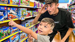 Buying EVERYTHING My SON Touches... **CHALLENGE**