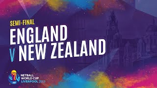 England v New Zealand | Semi Final | NWC2019