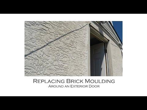 Replacing Brick Moulding around an Exterior Door with Resetting Door Jamb
