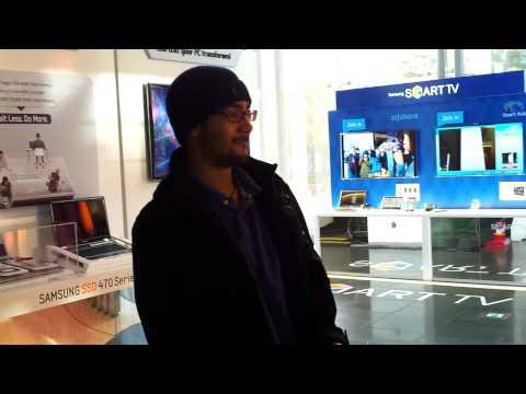 Worlds Slimmest LCD TV - Samsung UN55C9000 9000 Series 3D 1080p LED HDTV