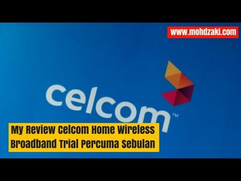 Review Celcom Home Wireless Broadband