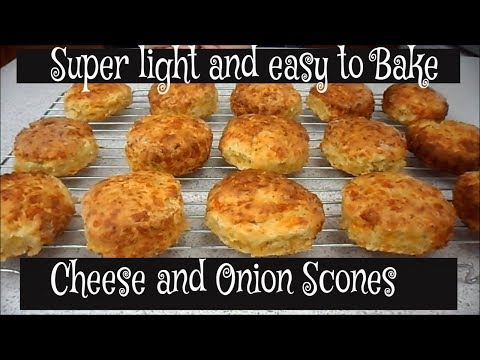 How To Make Cheese and Onion Scones SUPER FLAVOUR PACKED RECIPE !