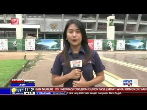 Pembangunan Venue Asian Games di GBK Sudah 10 Persen