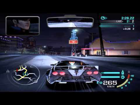 Need For Speed Carbon Final Boss - Cross vs Darius [HD]
