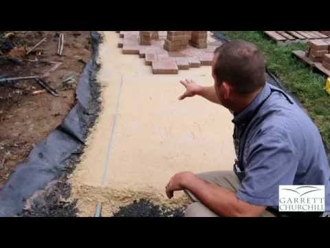 Paver Walkway Installation | Garrett Churchill