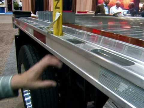 New engineering for flatbed trailers