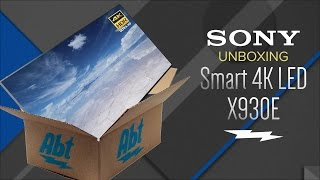 Unboxing: Sony XBR65X930E