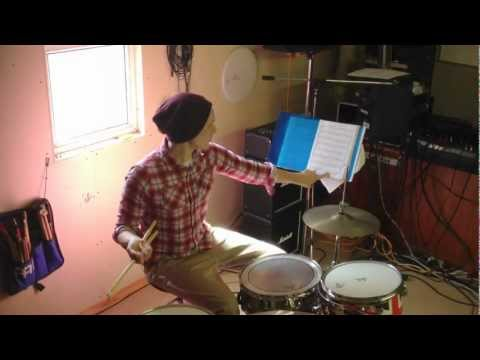 Learn how to play the drums. Lesson 3 #14