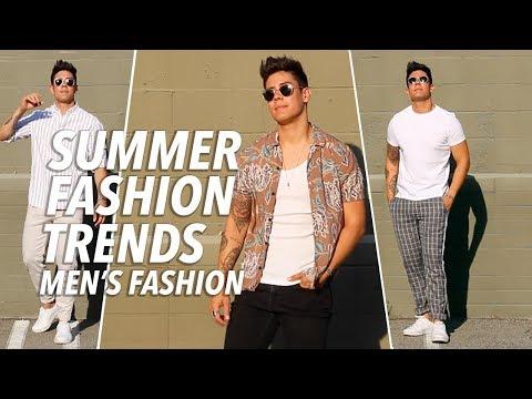 TOP 5 MEN'S SUMMER FASHION TRENDS & ESSENTIALS 2018 (w/ Outfits) | JAIRWOO