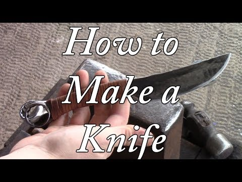 How to Turn a Wrench Into a Knife - No Commentary