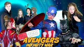 Avengers Infinity War Trailer Parody by SuperHero Kids In Real Life