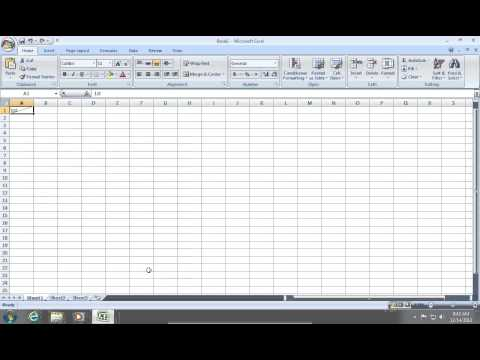 How to split Excel 2007 Cells diagonally