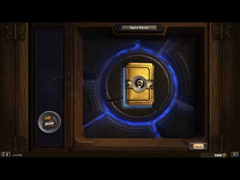 Hearthstone: Golden Pack Opening  (All Gold Cards!) | Classic