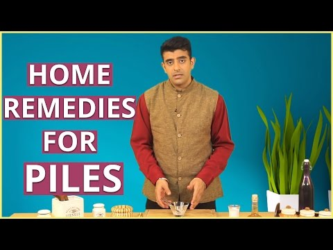 PILES TREATMENT AT HOME I Home Remedies For Piles Cure