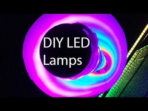 DIY programmable LED Lamps