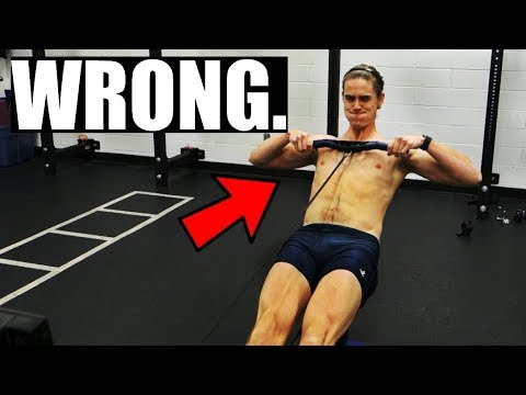Rowing Machine: Where To Pull In?