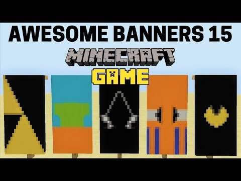 ✔ 5 AWESOME MINECRAFT BANNER DESIGNS WITH TUTORIAL! #15
