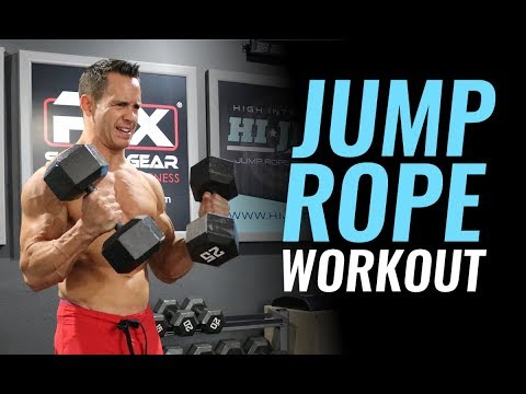 Jump Rope Workout - Burn 600 Calories Fast