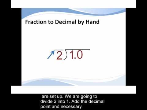 How to Convert Fractions to Decimals   TutaPoint.com