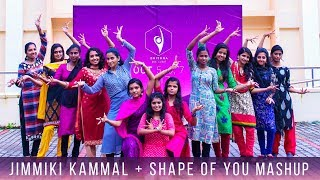 Jimikki Kammal + Shape of You Mashup - Dance Cover by School of Engineering,CUSAT