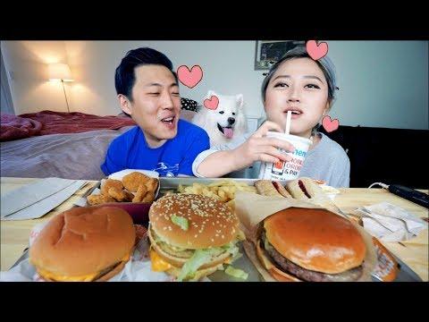 I Give up!!!! T- T .. McDonald's Mukbang !! | KEEMI★