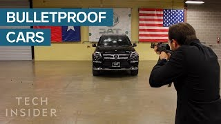 CEO Proved His Bulletproof Cars Work By Sitting Inside One And Taking Shots From An AK-47