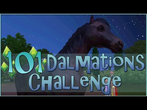 Birthday Wishes for Wild Horses || Sims 3: 101 Dalmatians Challenge  - Episode #66