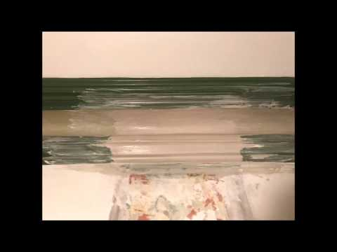 Making a Section of Missing Victorian Cornice Insitu