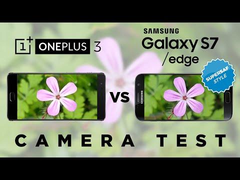 OnePlus 3 vs Samsung Galaxy S7 Camera Test Comparison