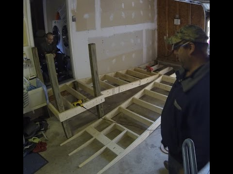 Time Lapse - Building a Ramp !