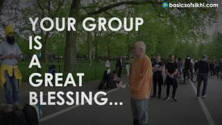 You Sikhs are a great blessing for our society!!! Hyde Park 3