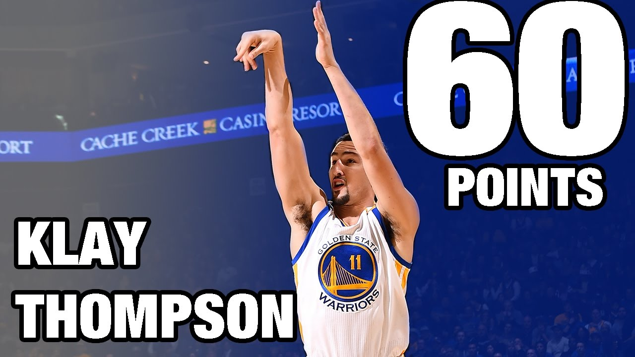 Klay Thompson CAREER HIGH 60 POINTS in 29 Minutes   12.05.16