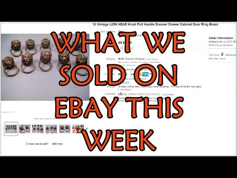 What we sold on ebay - Prescription Eyeglasses, Brass Pulls, Earrings - Dorky Thrifters