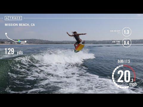 Bungee Wakesurfing at 45.5mph on a Skimboard with World Champion Skimboarder Austin Keen