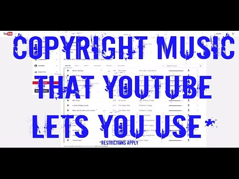How To Legally Use Copyrighted Music in YouTube Videos - Updated Spring 2016