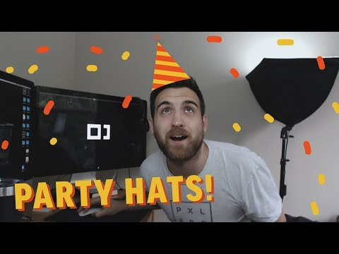 How to Make Birthday Party Hats in Illustrator!