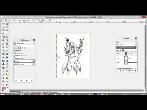 Photoshop/Gimp Tip: DRAW beneath  hand drawn SKETCH on SEPARATE transparent Layer