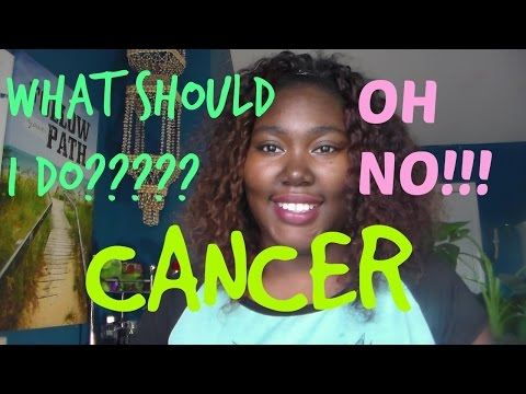 what to do when you find out you have cancer
