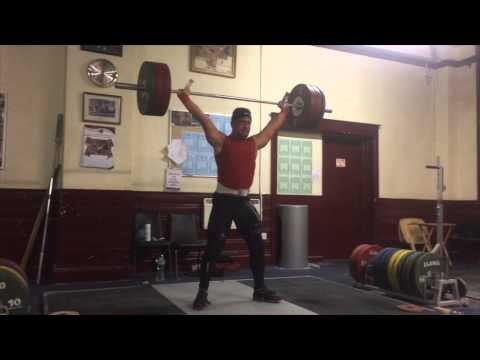 Sonny Webster weightlifting Training video 12/11/14