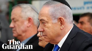 Benjamin Netanyahu urges Benny Gantz to form unity government with him