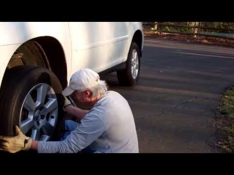 Rotating your tires at home