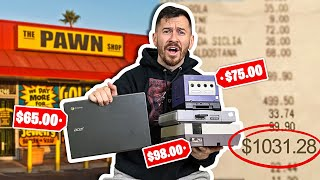 I Bought $1,000 Worth of Tech From A Pawn Shop!!