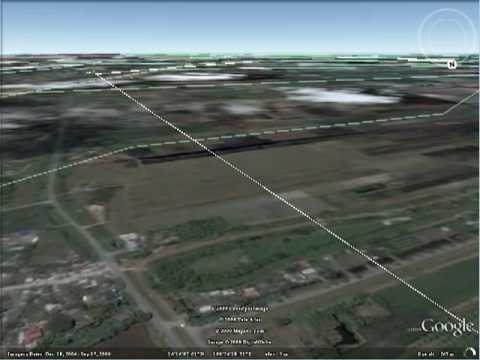 Google Earth Route Flying Demo