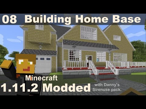 Modded 1.11.2 - Base Build w/ Chisels & Bits/Cooking for Blockheads (E08)