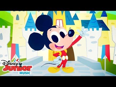 Mickey Roadster Racing Nursery Rhymes!    🎼 Disney Junior Music Nursery Rhymes   Disney Junior