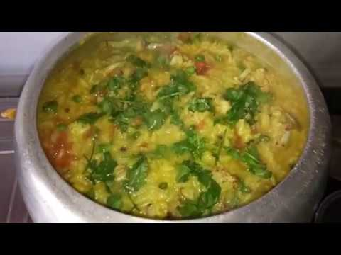 Rice Dal And Mix Vegetable Khichdi/Khichri Recipe In Pressure Cooker