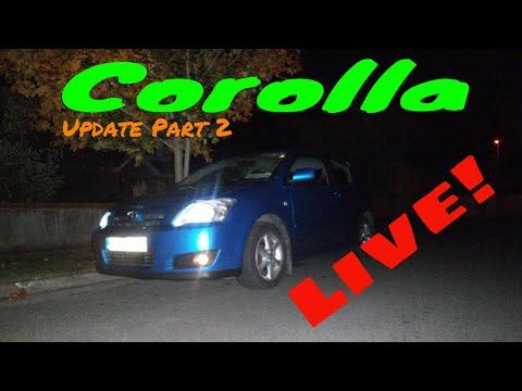 Corolla Update Part 2