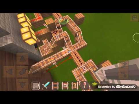 Temple of Notch in minecraft pe 0.13.0