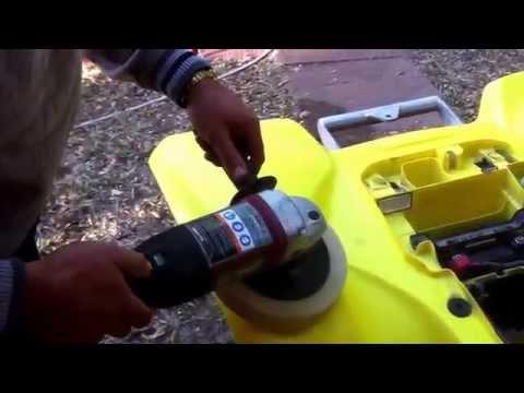 How to Polish Restore Plastics on ATV Four wheeler and Dirt Bike