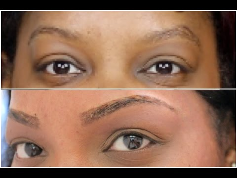 MY EYEBROW WAXING & TINTING ROUTINE